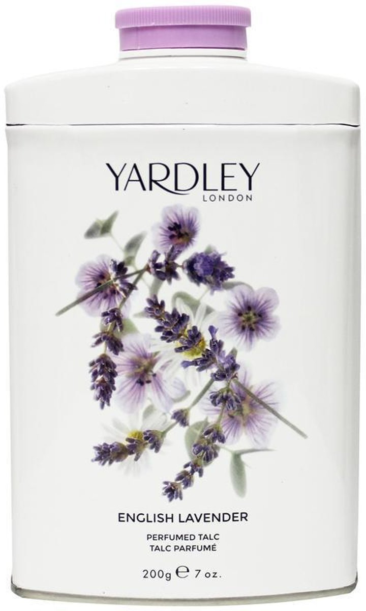 Yardley English Lavender Talc 200g
