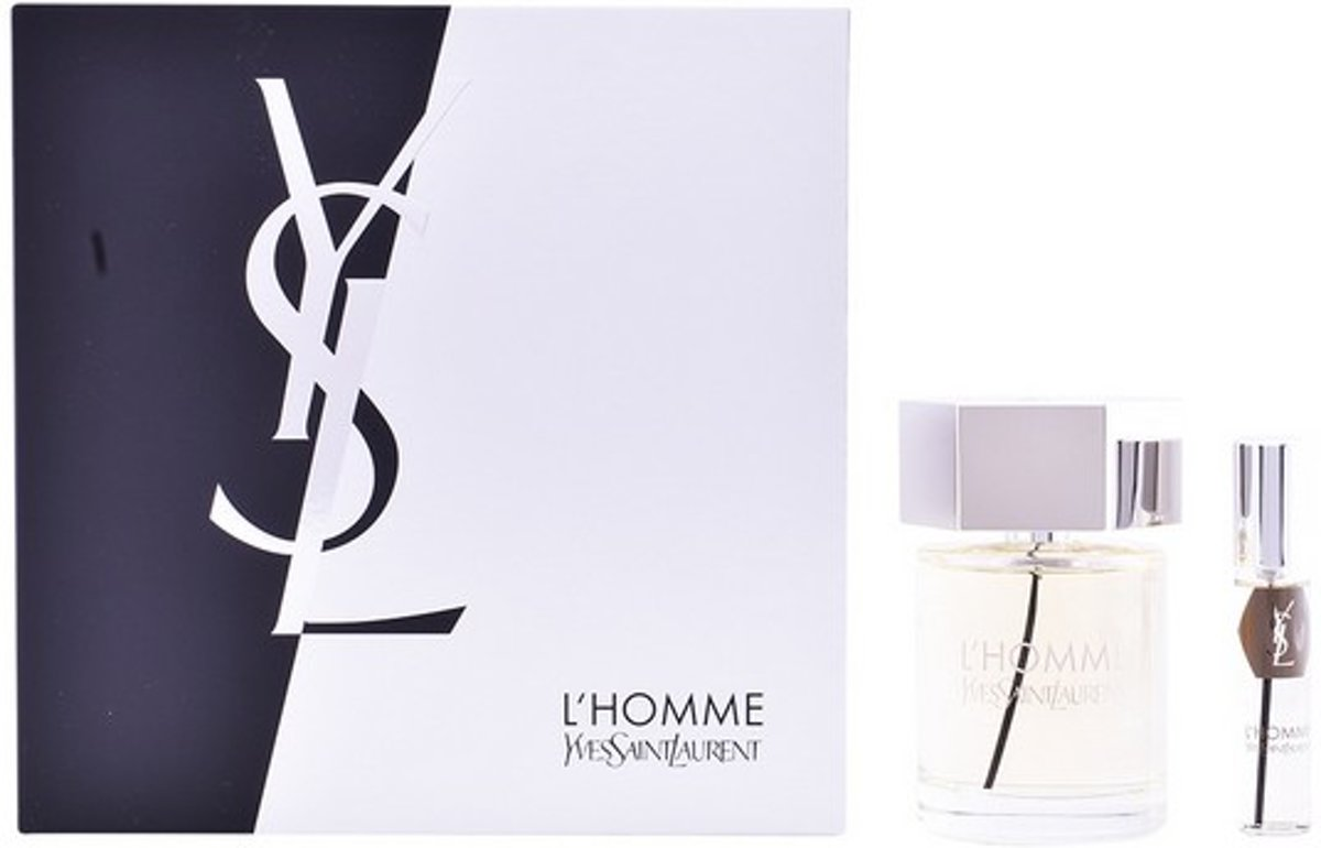 YSL lhomme ysl eau de toilette 100ml spray + miniatuur 10ml