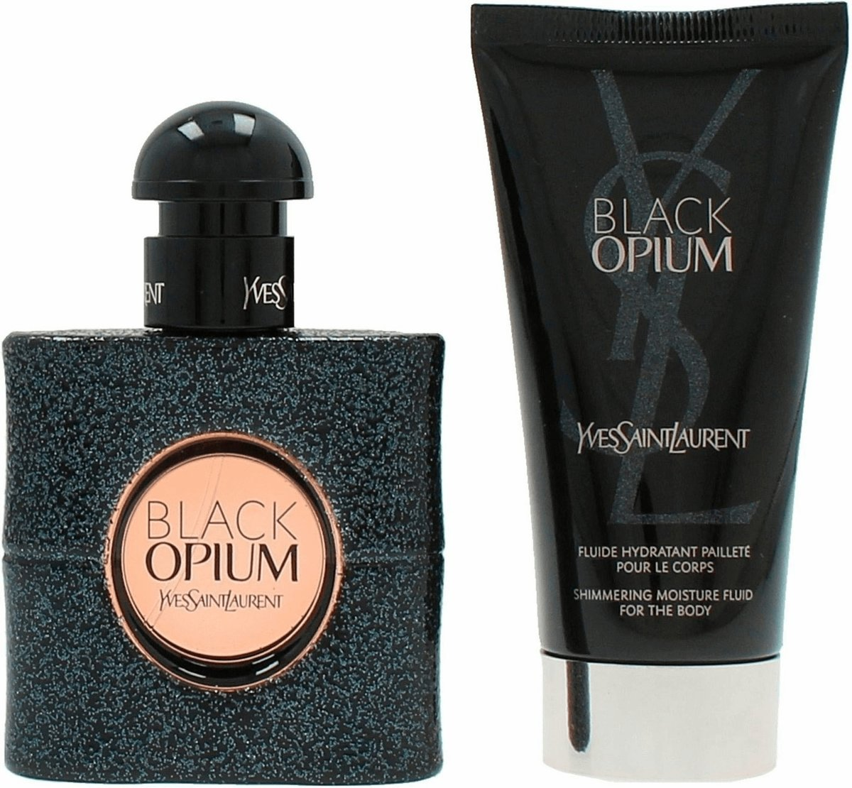 Yves Saint Laurent - Eau de parfum - Black Opium 30ml eau de parfum + 50ml bodylotion - Gifts ml