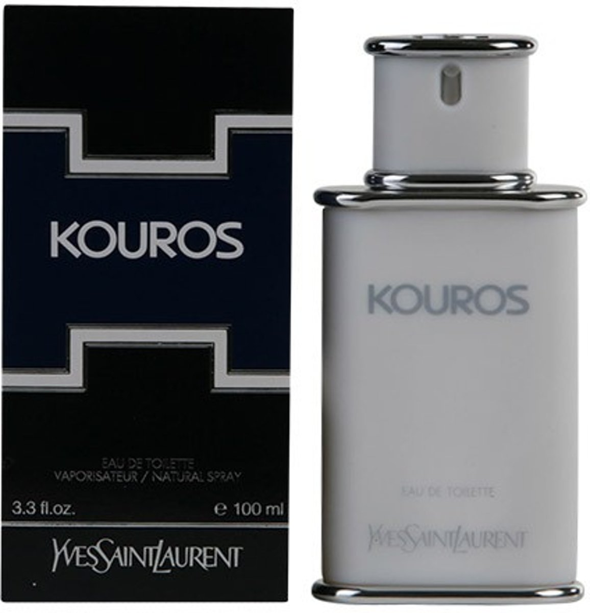 MULTI BUNDEL 2 stuks KOUROS Eau de Toilette Spray 100 ml