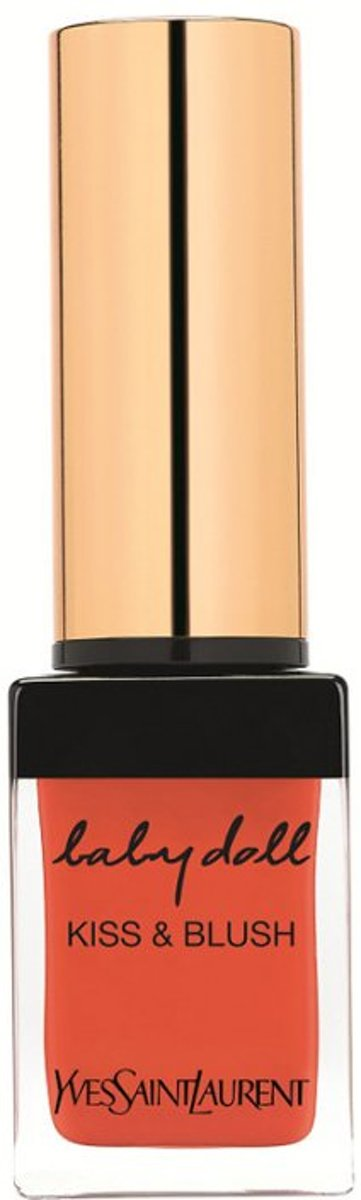 Yves Saint Laurent Babydoll Kiss & Blush  Lipgloss 10 ml - 24 - Orange Intrepide