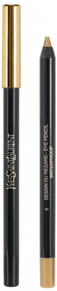 Yves Saint Laurent Dessin du Regard Waterproof Oogpotlood 1 st - 02 - Brun Danger