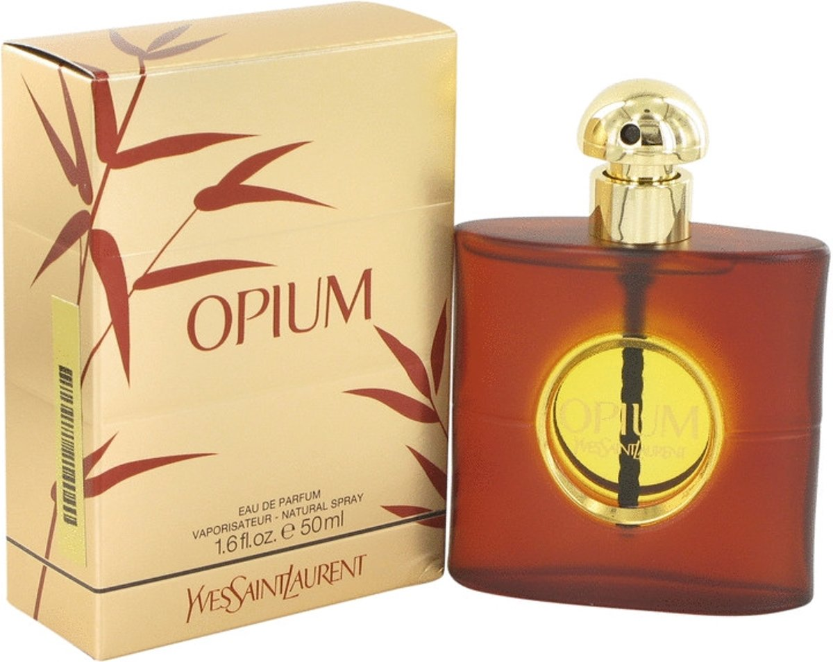 Yves Saint Laurent Opium 50 ml - Eau De Parfum Spray (New Packaging) Women