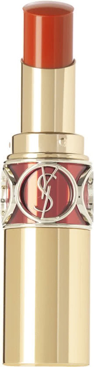 Yves Saint Laurent Rouge Volupte Shine - 14 Corail In Touch - Lippenstift
