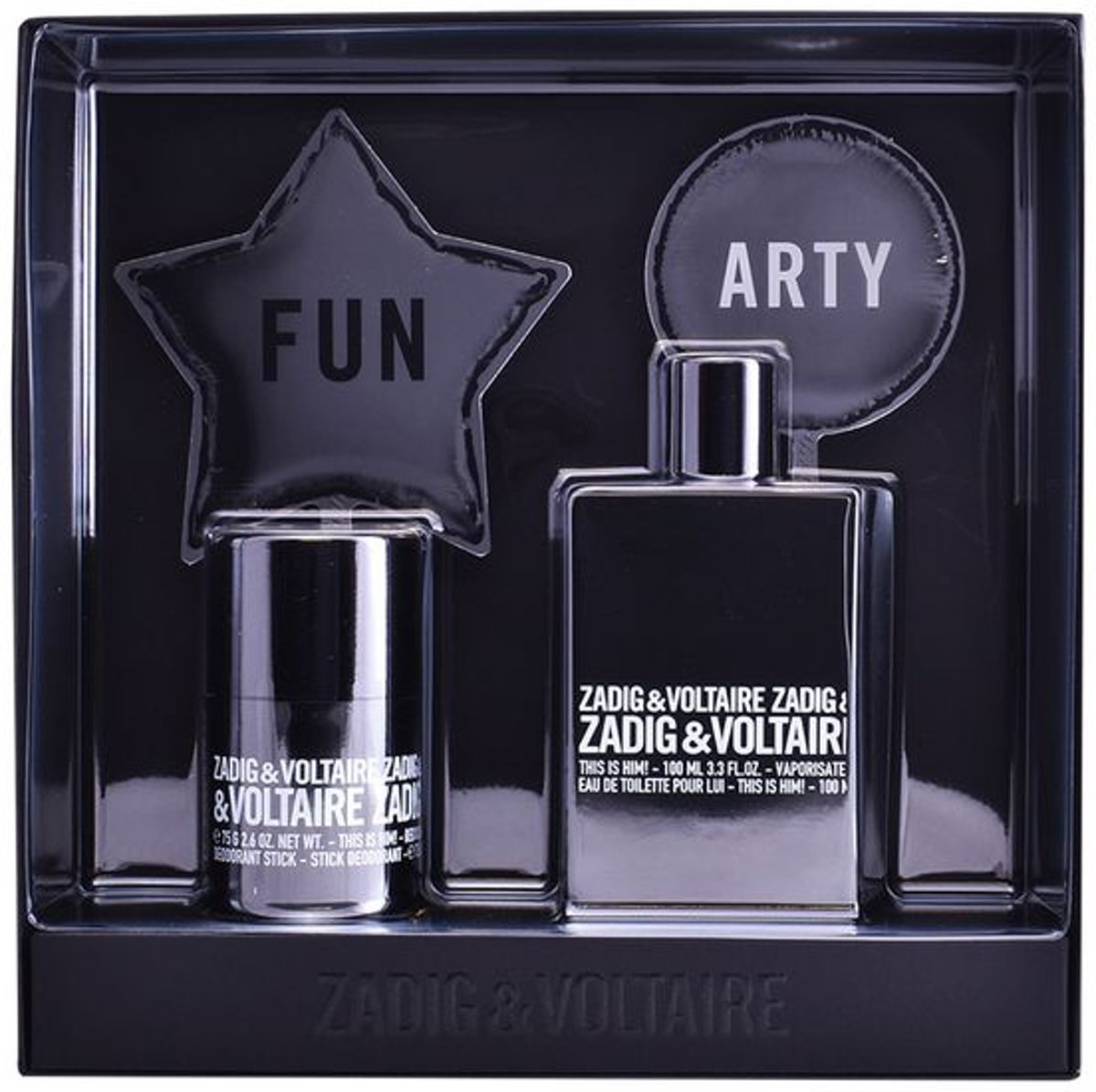 Parfumset voor Heren This Is Him! Zadig & Voltaire (2 pcs)