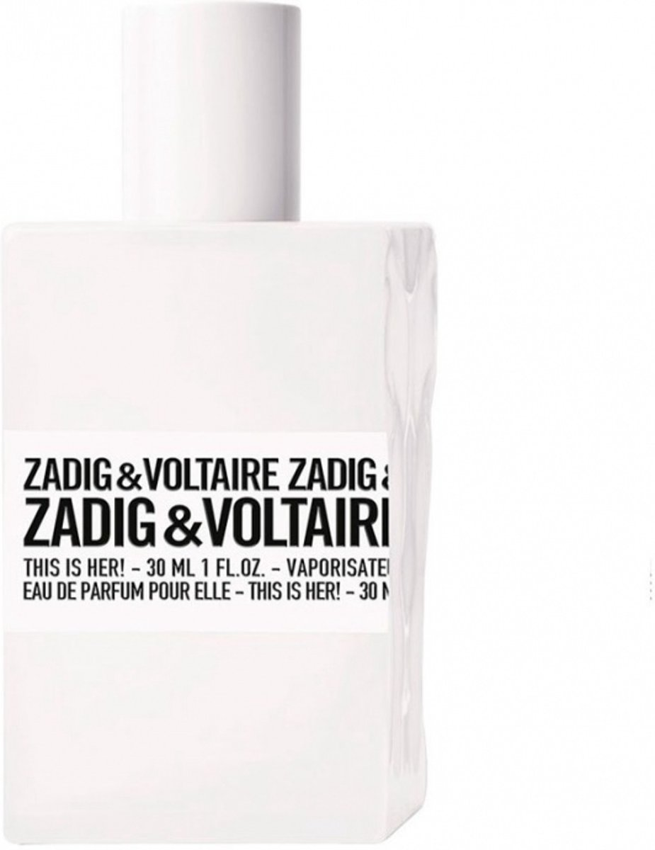 Zadig & Voltaire This Is Her 100 ml  - Eau de Parfum - Damesparfum
