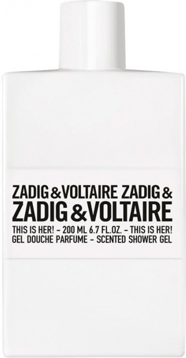 Zadig & Voltaire This Is Her Shower Gel 200 ml