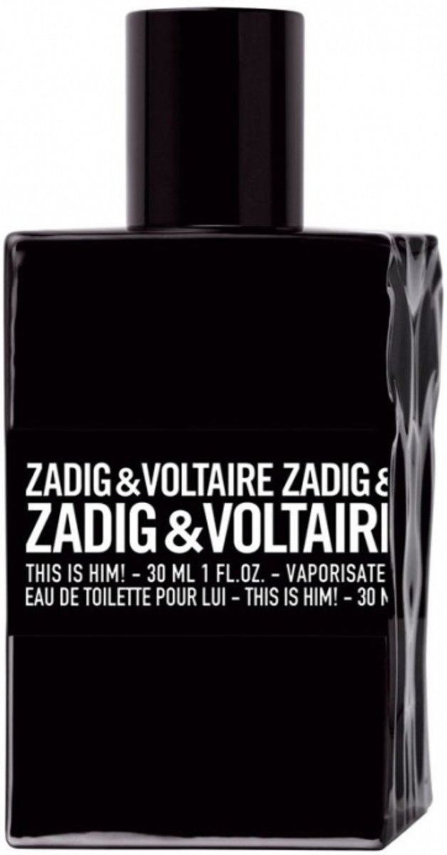 Zadig & Voltaire This Is Him 30 ml - Eau de Toilette - Herenparfum