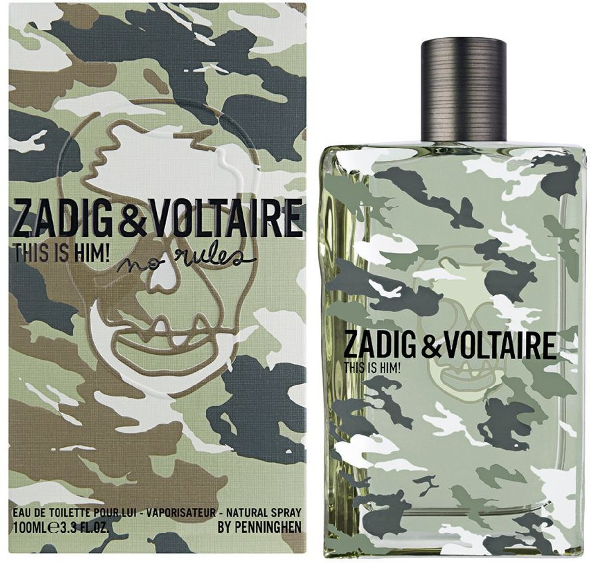 Zadig & Voltaire This is Him! No Rules Eau de Toilette 100ml
