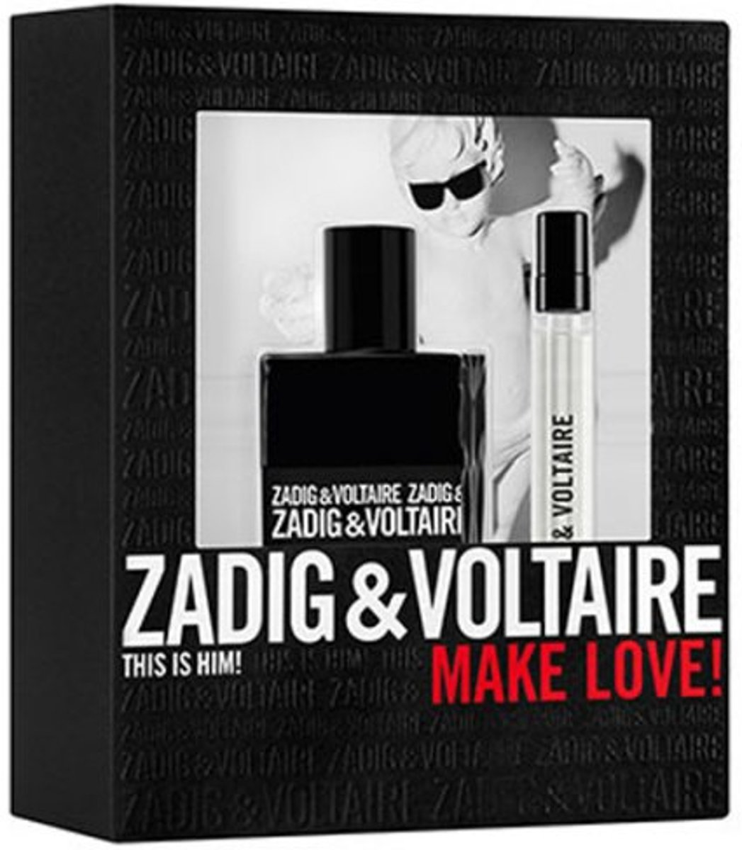 Zadig & Voltaire Zadig Man 50 ml edt 10 ml edt spray set