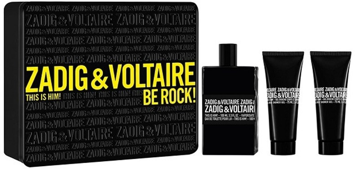 Zadig en Voltare - Eau de toilette - This is him 100 ML eau de toilette + SHOWER GEL 75 ML + AFTERSHAVE 50 ML - Gifts ml