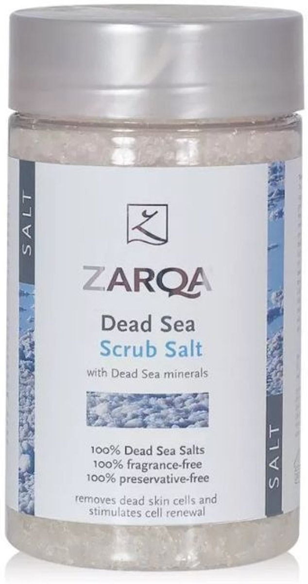 Zarqa Salt Pot - 400 gr - Body Scrub
