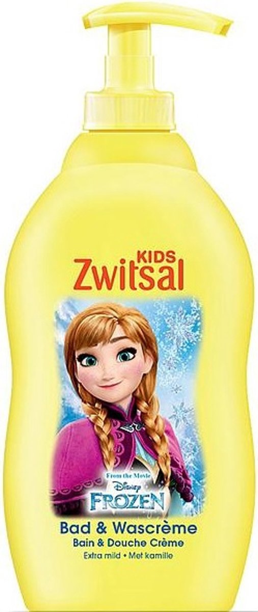 Zwitsal Frozen Kids Bad & Wash Creme 400ml