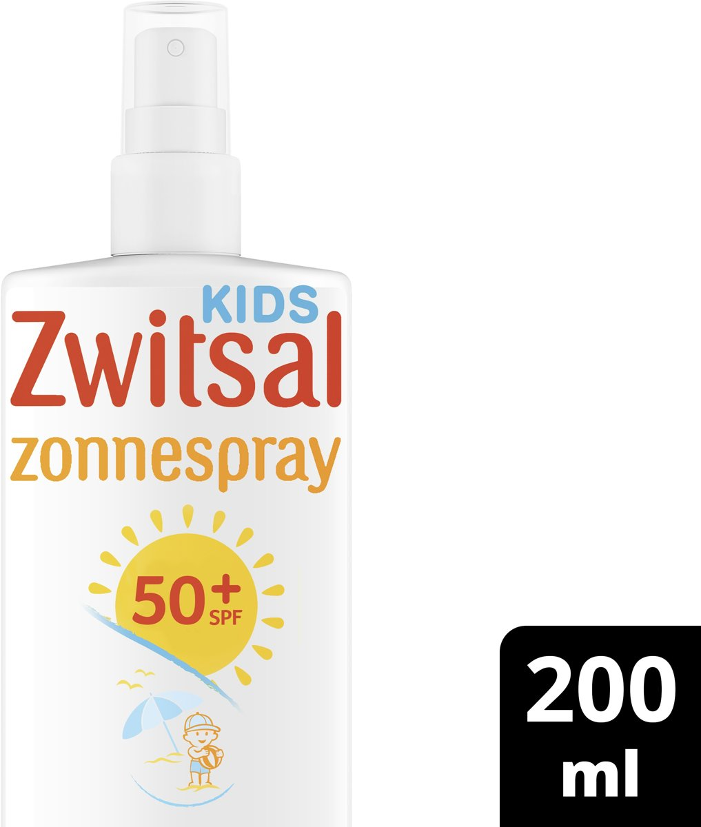 Zwitsal Kids SPF 50+ 0%parfum Zonnespray 200 ml