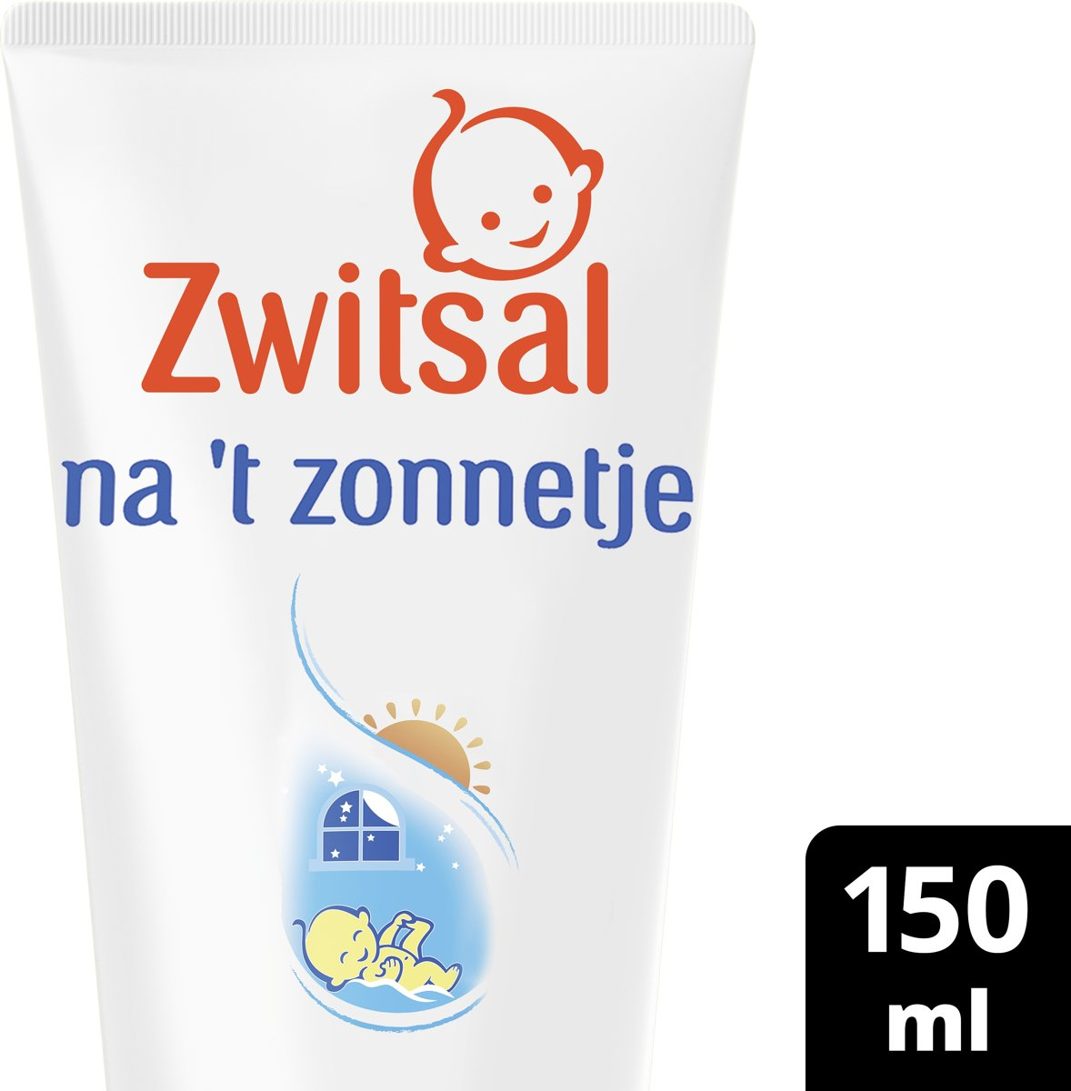 Zwitsal  Na t zonnetje 0% Parfum - Aftersuncreme  - 150 ml