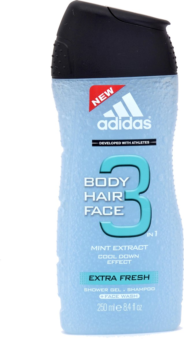 Adidas - Extra Fresh Hair & Body - 250 ml - Douchegel