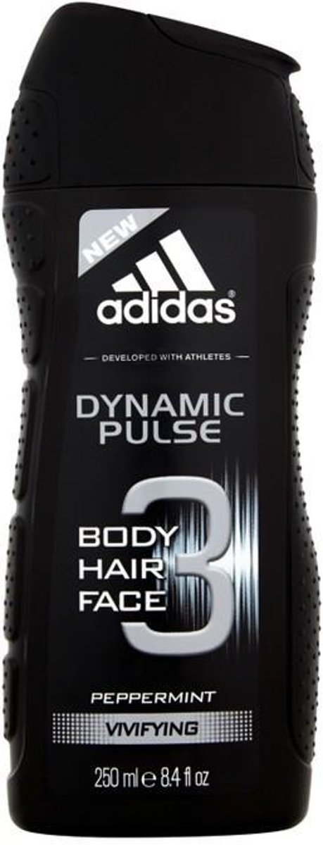Adidas 3 Dynamic Pulse Shower Gel for body and facial hair 250ml