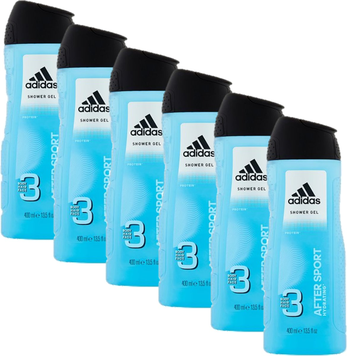 Adidas Douchegel 3in1 After Sport 6 x 400 ml