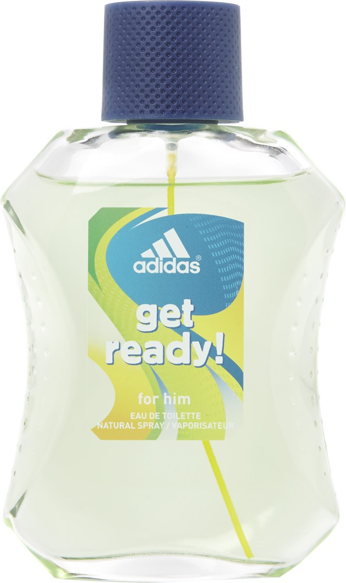 Adidas Get ready for Men Parfum - 100 ml - Eau de toilette
