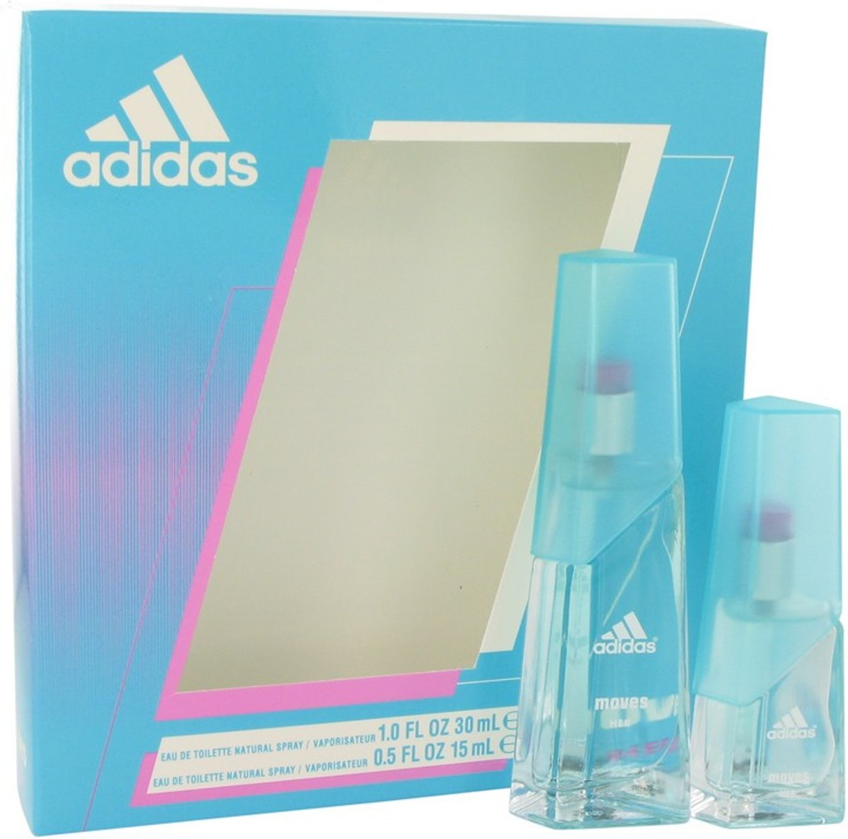 Adidas Gift Set Adidas Moves By Adidas - Fragrances For Women