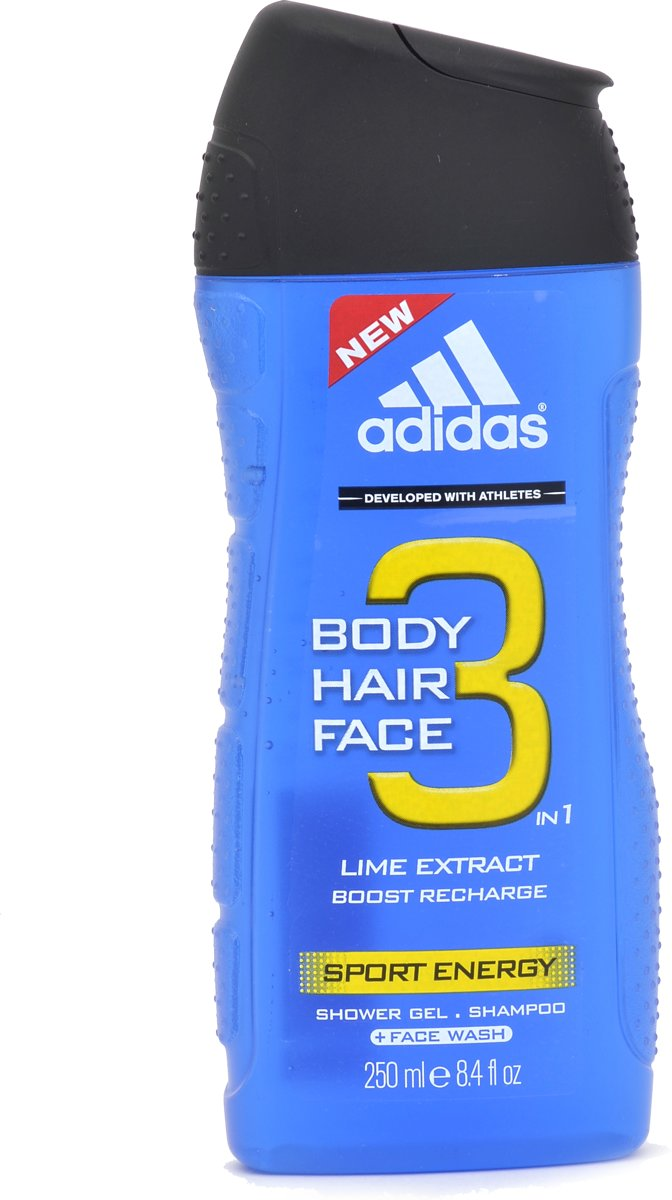 Adidas Sport Energy Hair & Body Douchegel - 250 ml