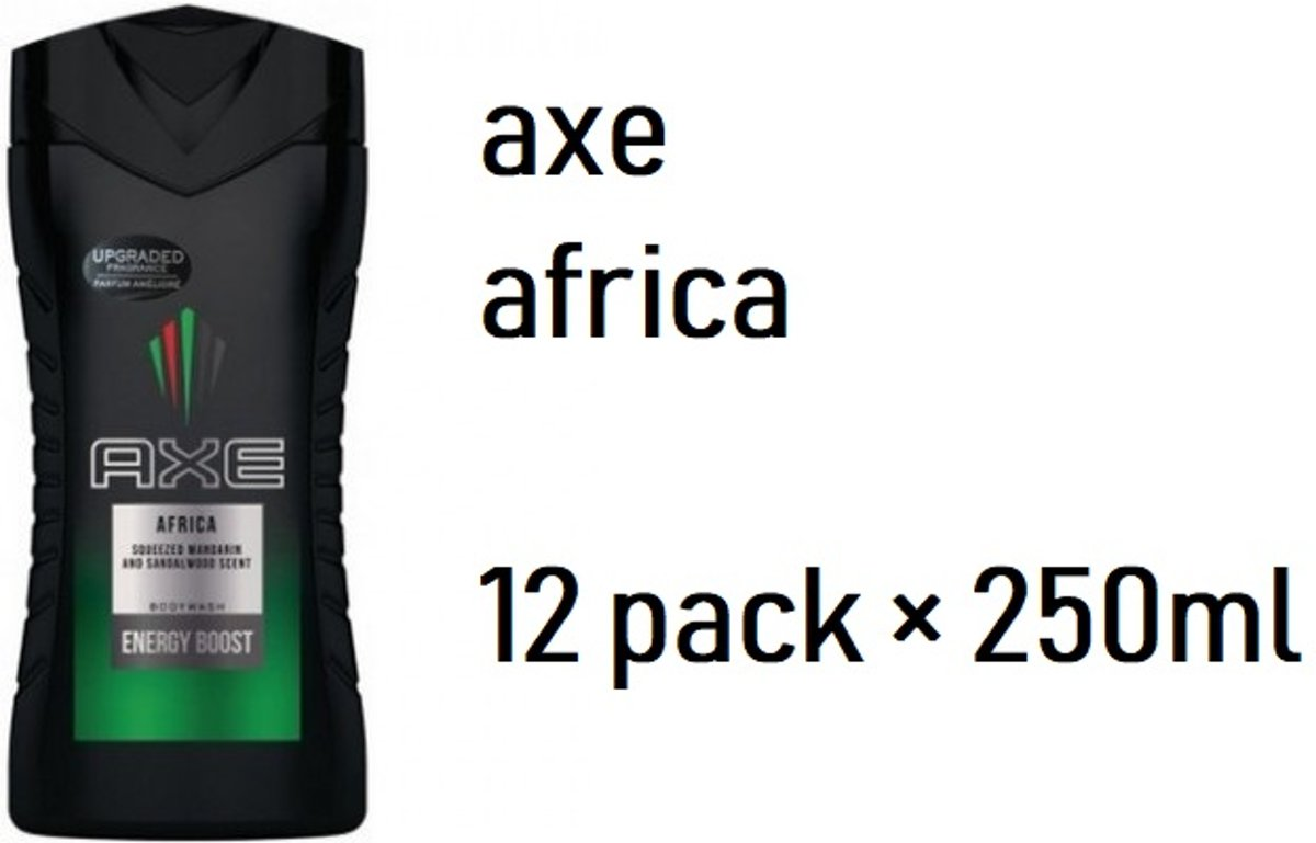 12 pack axe douchegel africa