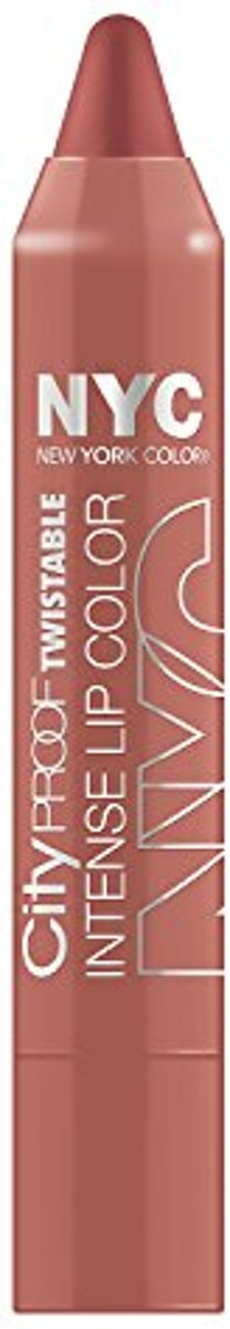Nyc City Proof Twistable Lip Colour 011 Brooklyn Brown Stone