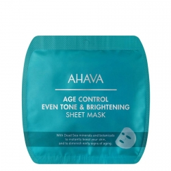 AHAVA Age Control Even Tone & Brightening Sheet Mask Masker 1 st.