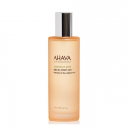 AHAVA Dead Sea Plants Dry Oil Body Mist Mandarin & Cedarwood Bodymist 100 ml