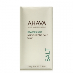 AHAVA Dead Sea Salt Moisturizing Salt Soap Zeep 100 gr.