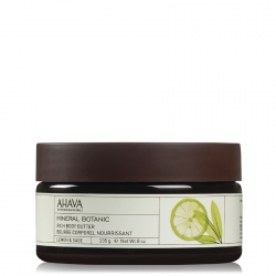 AHAVA Mineral Botanic Rich Body Butter Lemon & Sage Bodybutter 235 gr.
