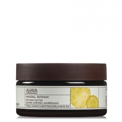 AHAVA Mineral Botanic Rich Body Butter Tropical Pineapple & White Peach Bodybutter 235 gr.