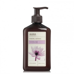 AHAVA Mineral Botanic Velvet Body Lotion Lotus & Chestnut Bodylotion 400 ml
