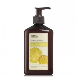 AHAVA Mineral Botanic Velvet Body Lotion Tropical Pineapple & White Peach Bodylotion 400 ml