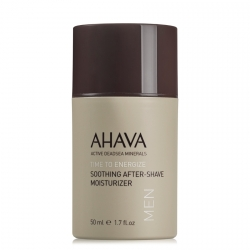 AHAVA Time to Energize Soothing After-Shave Moisturizer Aftershave Balm 50 ml