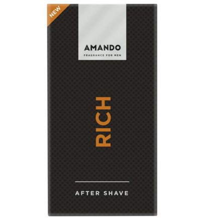 Amando Rich Aftershave (50ml)