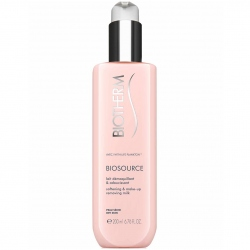 Biotherm Biosource Softening & Make-up Removing Milk Reinigingsmelk 400 ml