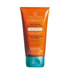 Collistar Active Protection Sun Cream Face Body Zonnecreme 150 ml