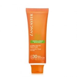 Lancaster Sun Sport Invisible Face Gel Matte Finish Zonnecreme 50 ml