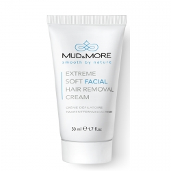 Mud & More Extreme Soft Facial Hair Removal Cream Ontharingscrème 50 ml