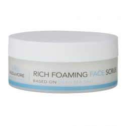 Mud & More Rich Foaming Face Scrub Gezicht scrub 150 ml