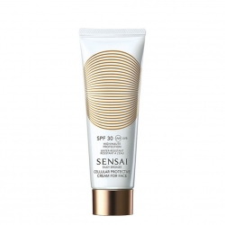 SENSAI Silky Bronze Cellular Protective Cream for Face Zonnecreme 50 ml