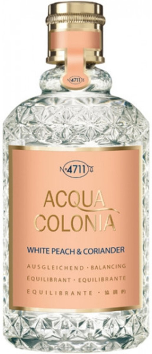 4711 Acqua Colonia White Peach & Coriander Eau de Cologne Spray 170 ml