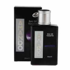 Amando Eau De Toilette Mystery for Men 50ml