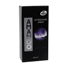 Amando Mystery Aftershave Spray for Men 50ml