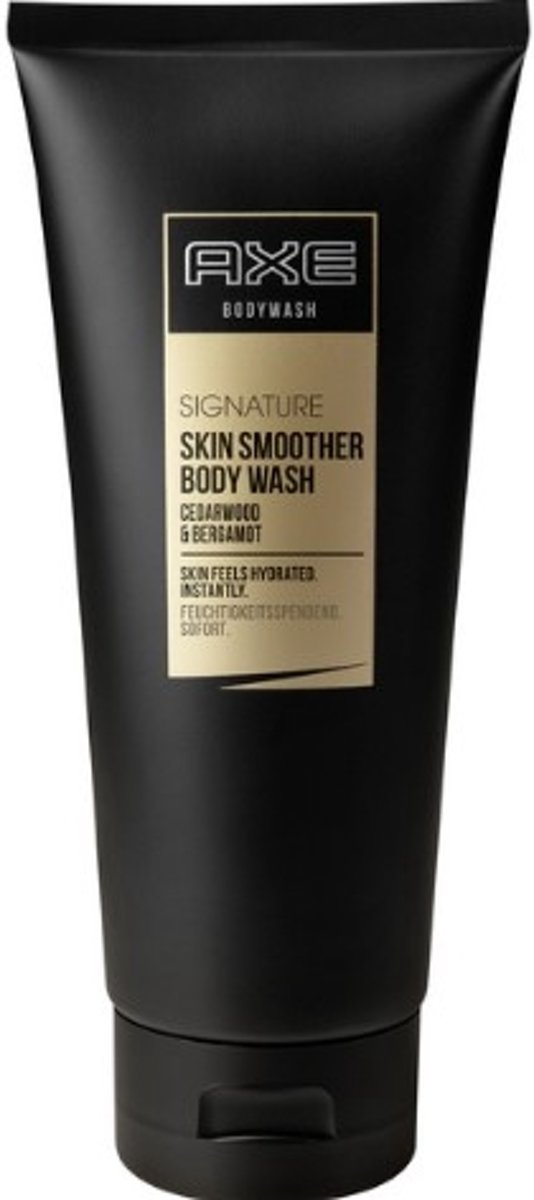 AXE Signature Skin Smoother Body Wash Lichaam Bergamot,Cedar 200ml douchegel