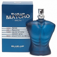 Blue Up Matcho Men Eau De Toilette Spray 100ml