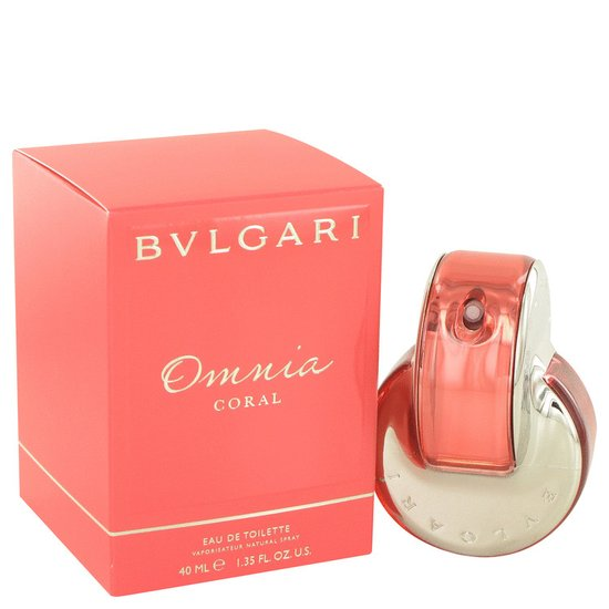 Bvlgari Omnia Coral for Women - 40 ml - Eau de toilette