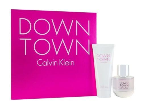 Calvin Klein Downtown giftset 50 ml eau de parfum + 100 ml bodylotion