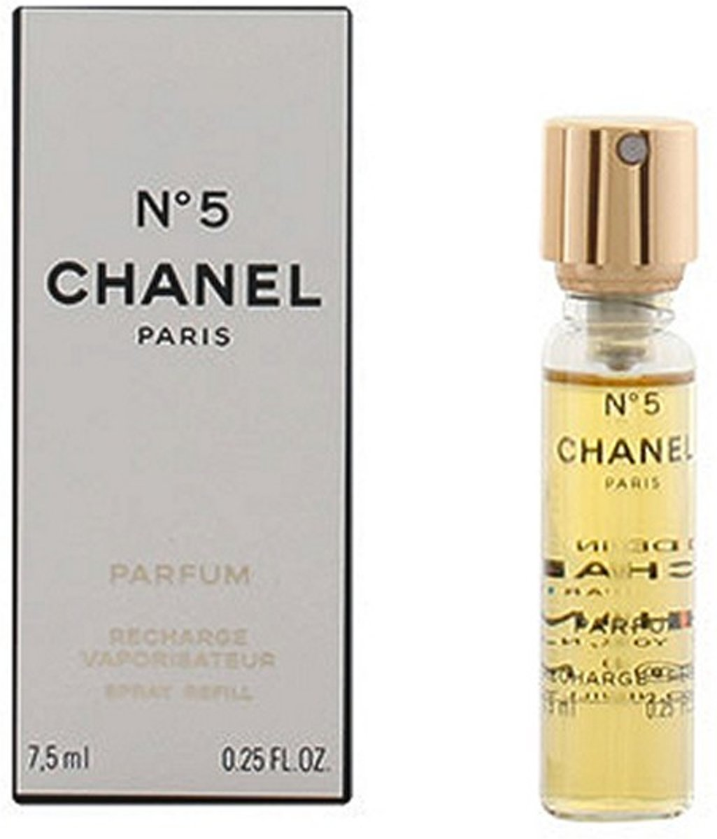 chanel n 5 recharge vaporisateur parfum 7 5 ml. Black Bedroom Furniture Sets. Home Design Ideas